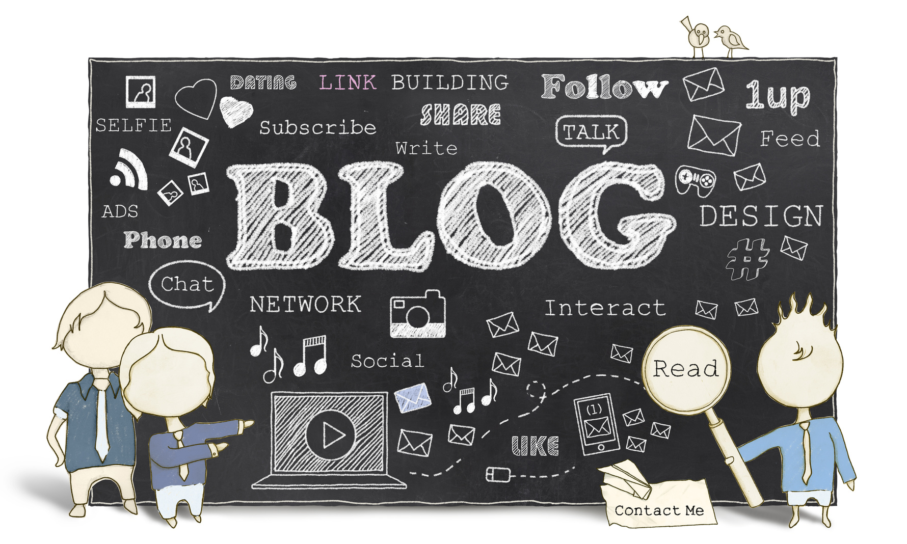Social Media with Blogging